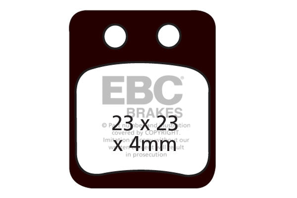 EBC Brake Disc Brake Pads CFA341