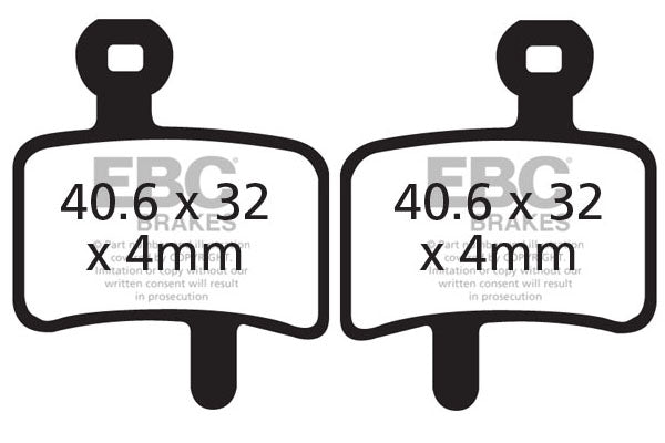 EBC Brake Disc Brake Pads CFA364