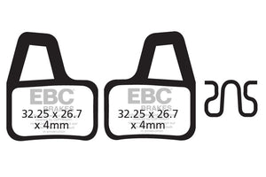 EBC Brake Disc Brake Pads CFA404