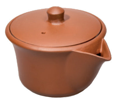 Brown Hohin (teapot without handle)