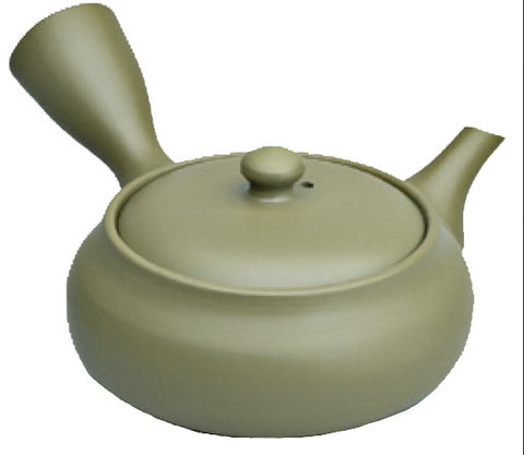 Olive Green Teapot