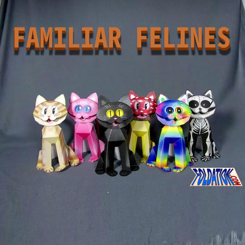 Familiar Felines - Cat set No.1
