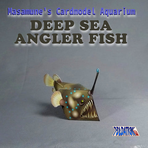 Cardmodel Aquarium - Deep Sea Angler Fish