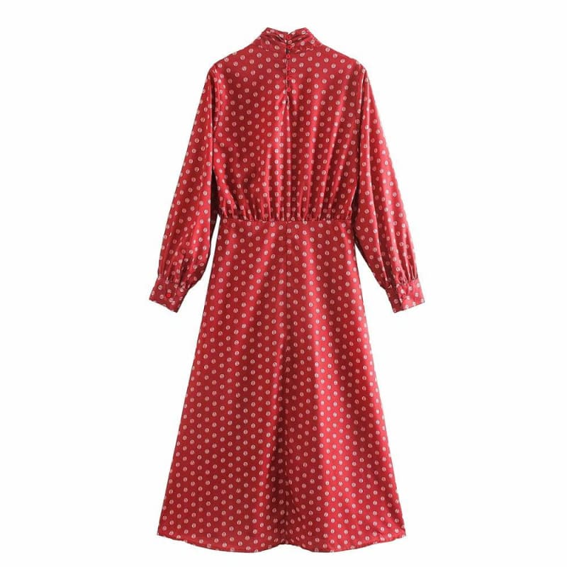 Robe Rouge Cocktail Vintage