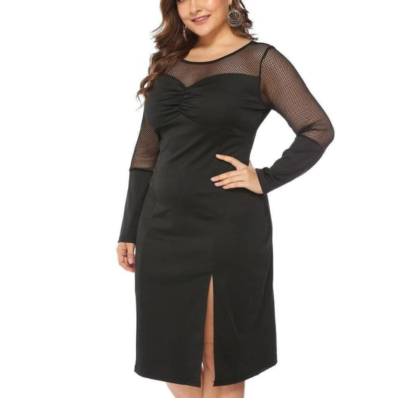 Robe Style Vintage Grande Taille