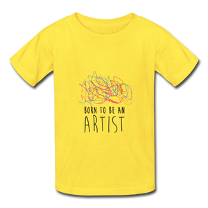 T-shirt enfant ARTIST (divers coloris) - I'm Born To Be