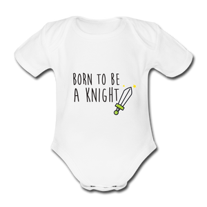 Body Bébé BIO 🍀 KNIGHT Vert - I'm Born To Be