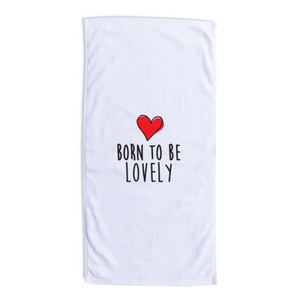 Serviette de plage XL LOVELY - I'm Born To Be