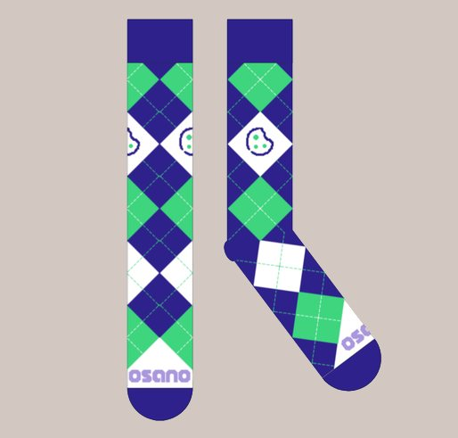 Argyle Cookie Socks