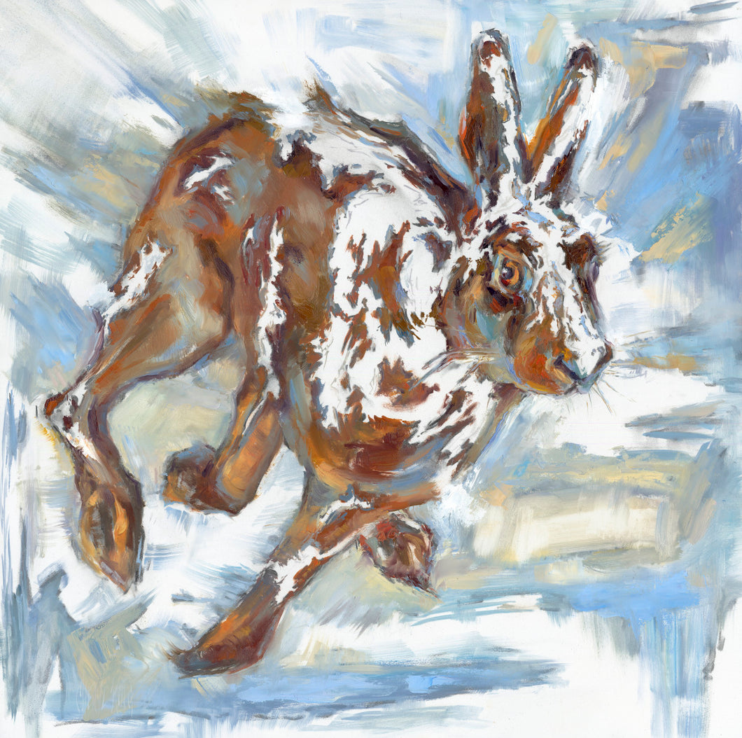 Dust Bunny - Giclee Print Of Original.