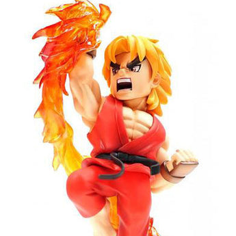 Street Fighter Ken The New Challenger TNC-02 figure display