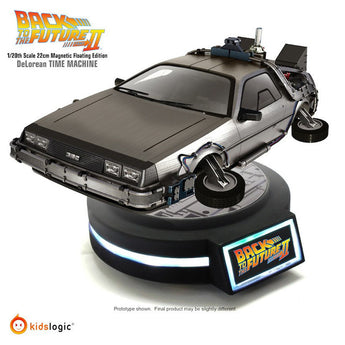 Kids Logic Back To The Future DeLorean Time Machine Magnetic Floating 1/20 Scale Model