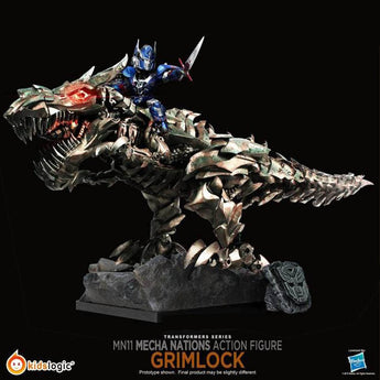 Kids Logic Transformers Age Of Extinction Mecha Nations Grimlock Figure MN-11