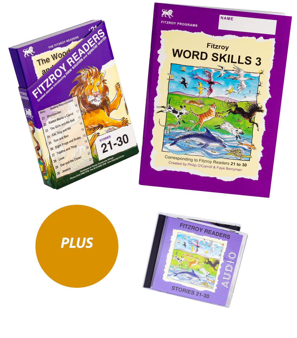 Readers 21-30 plus Word Skills 3 & Audio