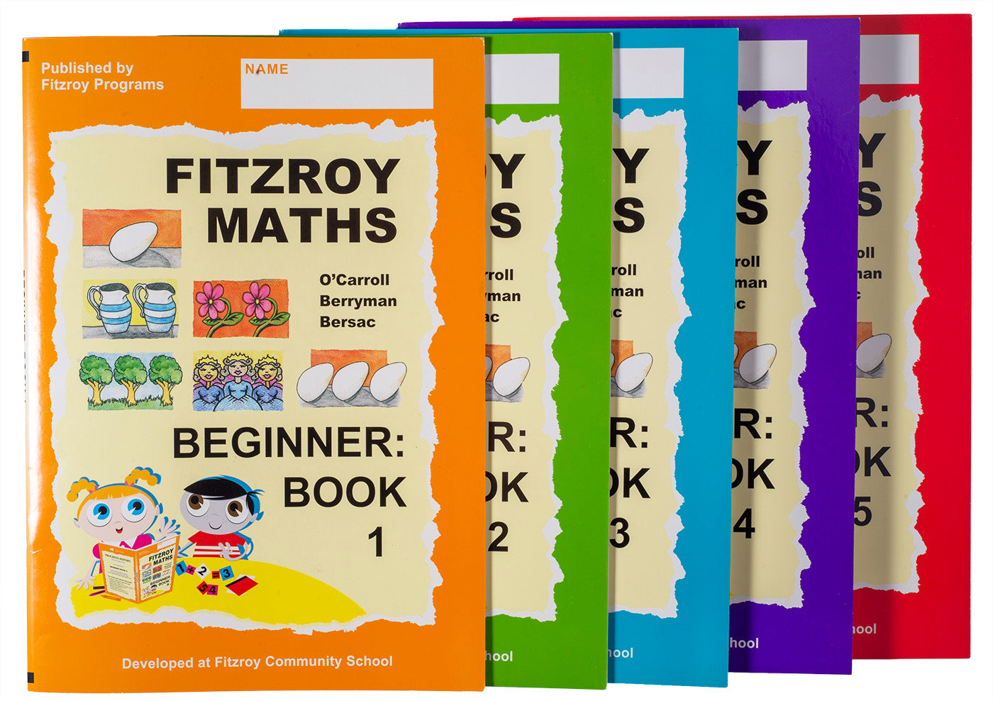 Fitzroy Maths Beginner Level Workbooks 1-5