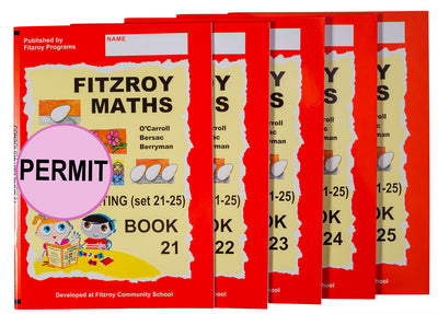 Fitzroy Maths Consolidating Level Workbooks 21-25