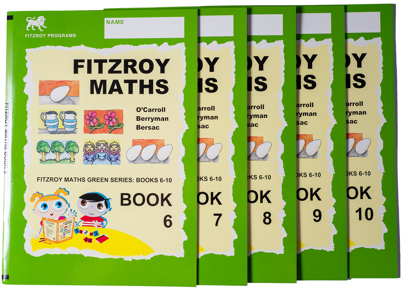 Fitzroy Maths Junior Level Workbooks 6-10
