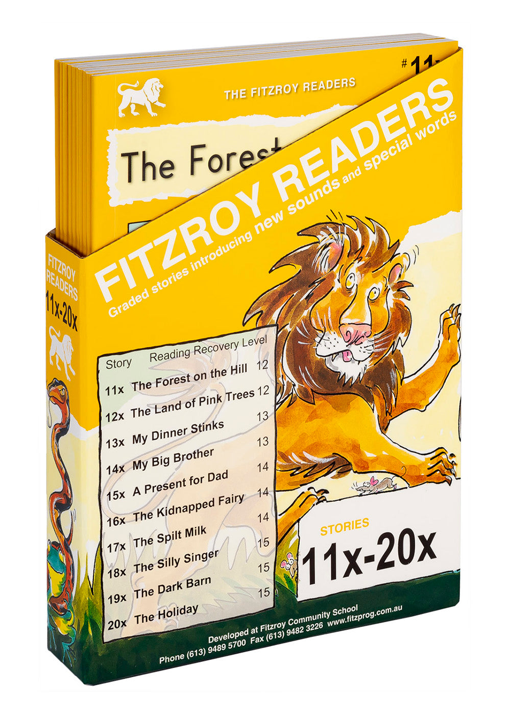 Fitzroy Readers 11x-20x