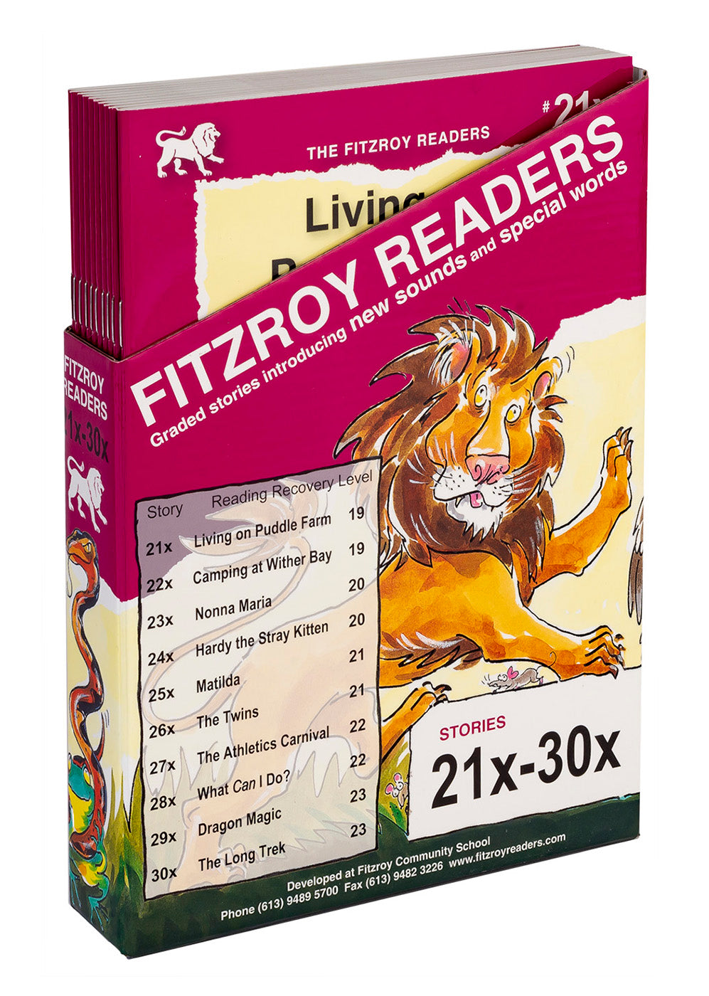 Fitzroy Readers 21x-30x
