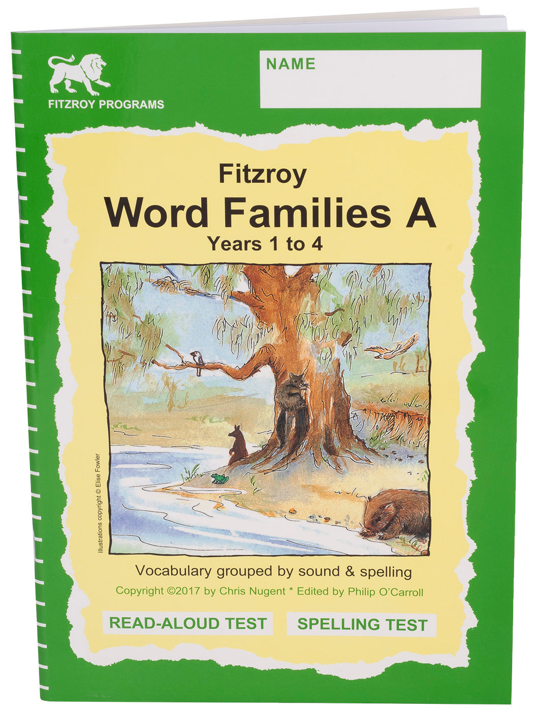 Fitzroy Word Families A