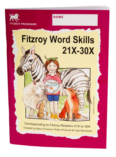 Fitzroy Word Skills 3X - Reader levels 21X-30X