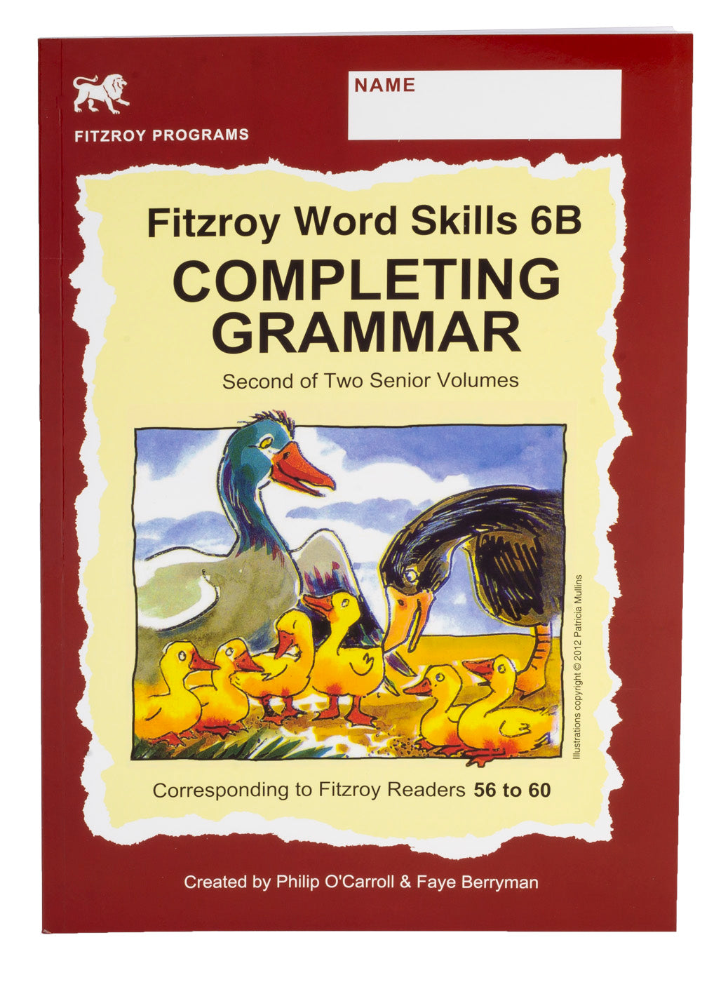 Fitzroy Word Skills 6B - Reader Levels 56-60