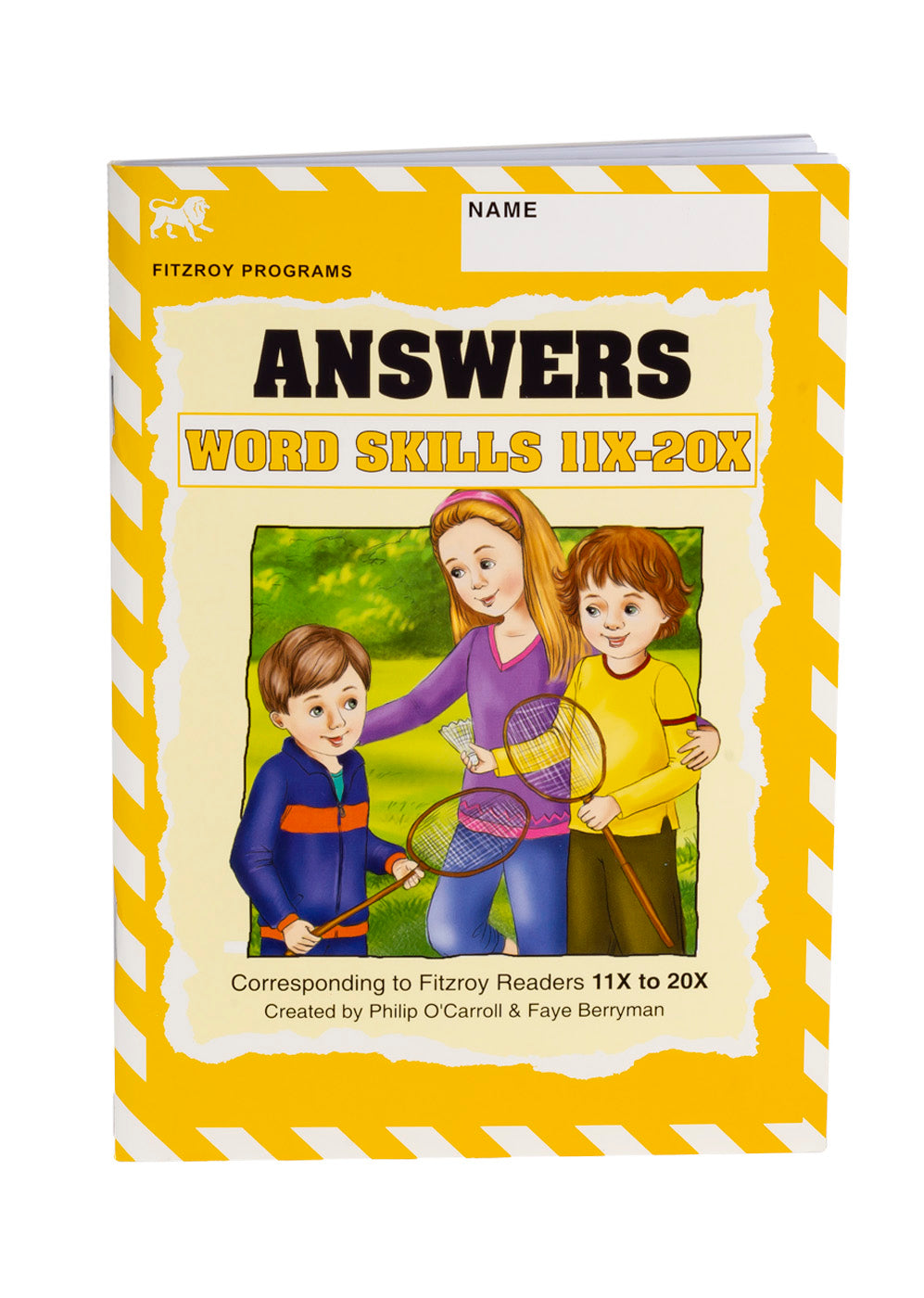 Fitzroy Word Skills Answer Book 11X-20X
