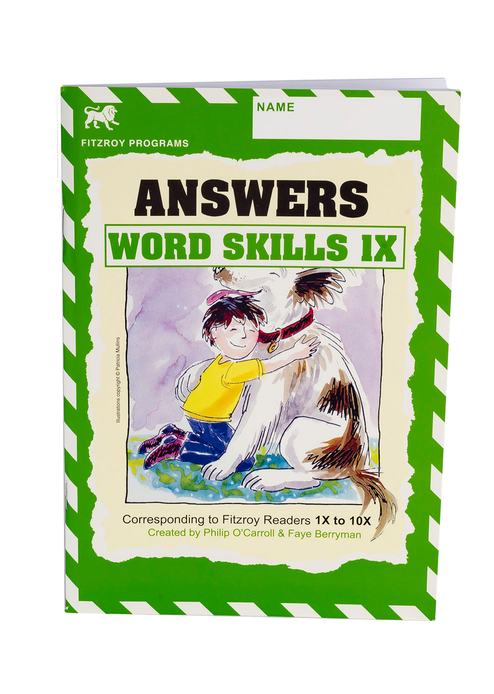 Fitzroy Word Skills Answer Book 1X-10X
