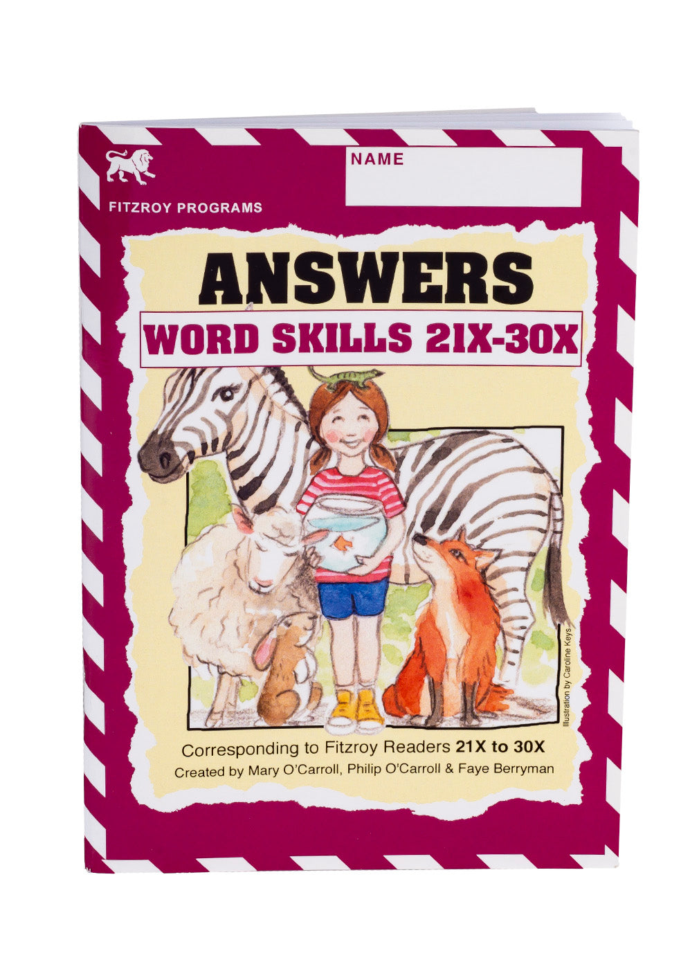 Fitzroy Word Skills Answer Book 3x