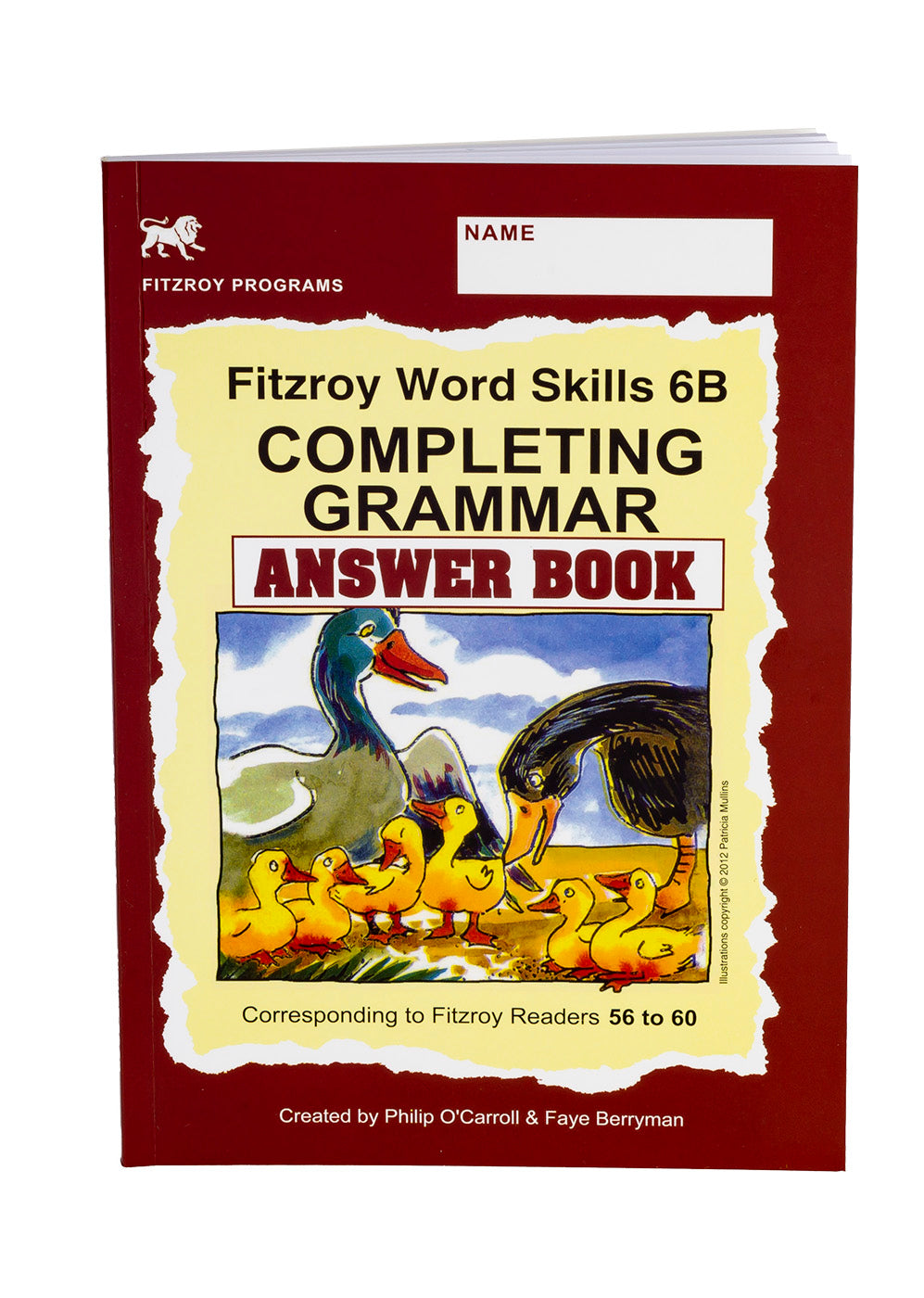 Fitzroy Word Skills Answer Book 6b