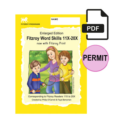 Fitzroy Word Skills 2X - Reader levels 11X-20X