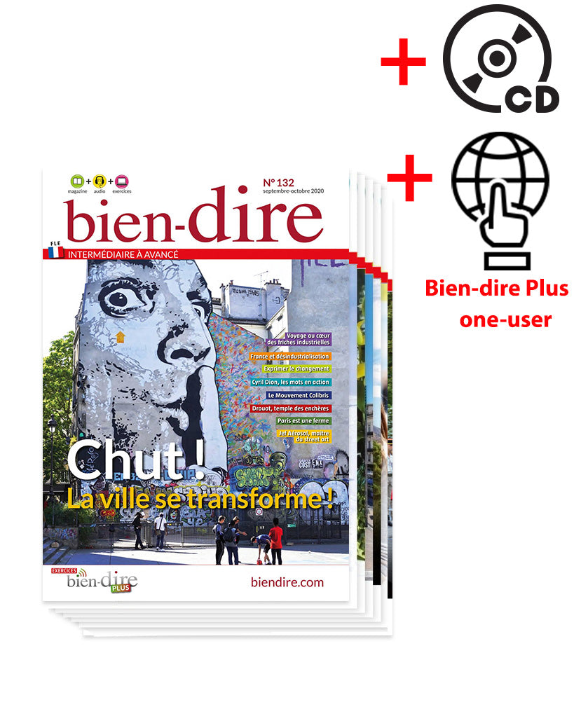 Bien-dire Magazine + Audio + Plus
