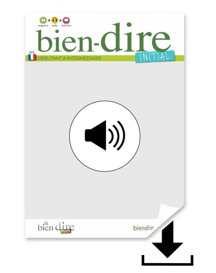 Bien-dire Initial Audio only