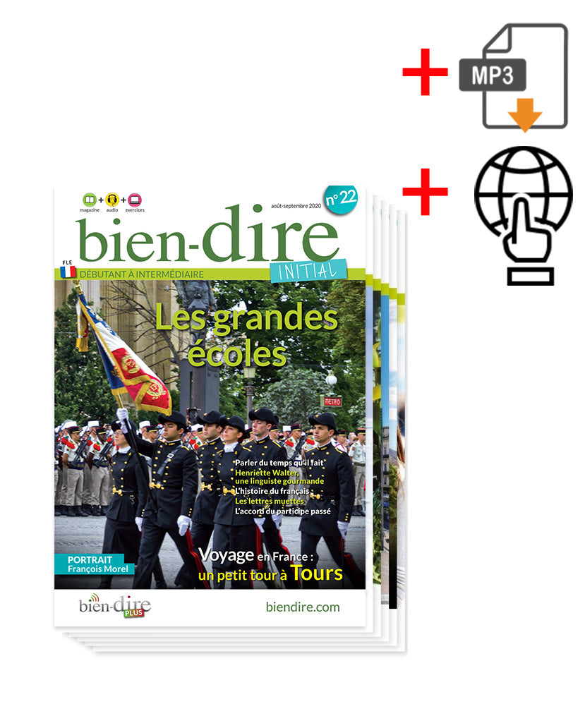Bien-dire Initial Magazine + Audio + Plus