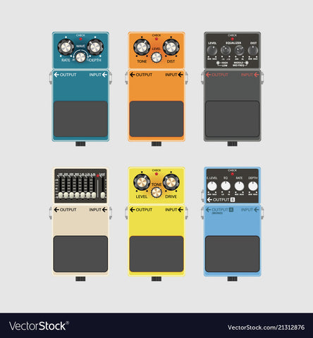 Guitar Pedals and Effects