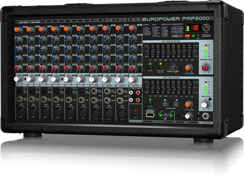 Behringer EUROPOWER PMP2000D - 14-Channel Powered Mixer - Audiofeen