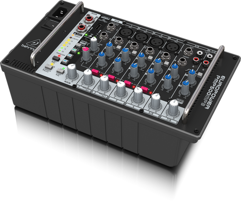 Behringer EUROPOWER PMP500MP3 - 8-channel powered mixer with mp3 - Audiofeen