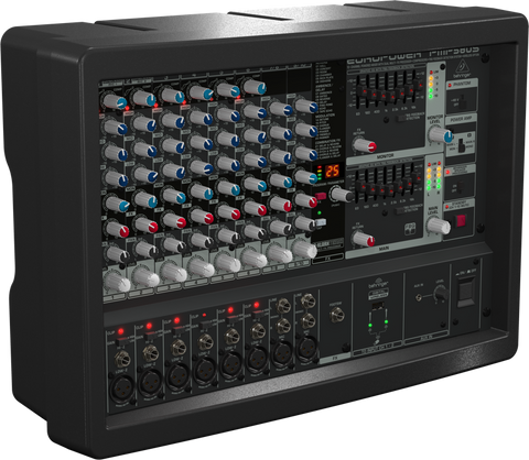 Behringer EUROPOWER PMP580S - 10-Channel Powered Mixer - Audiofeen