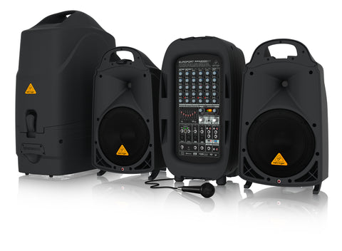 Behringer EUROPORT PPA2000BT - Portable PA - Audiofeen