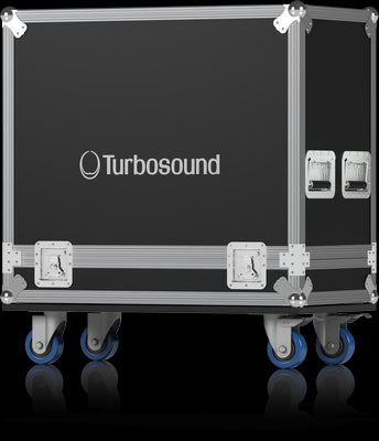 Turbosound TBV123-RC2 Road Case for 2 TBV123 Loudspeakers - Audiofeen
