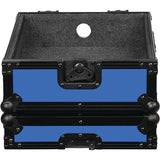 Odyssey FR12MIXBK-BLUE Flight Ready DJ Mixer Case (Black and Blue) - Audiofeen