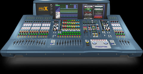 Midas PRO X-CC-IP - Midas PRO X Control Center (surface only, no cards included)  Digital audio mixing system with 168 input channels, 99 mix busses and 96 kHz sample rate - Audiofeen