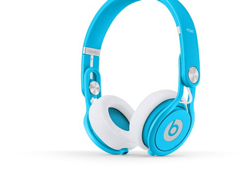 Beats by Dr. Dre Mixr On-Ear Headphones - Neon Blue - Audiofeen