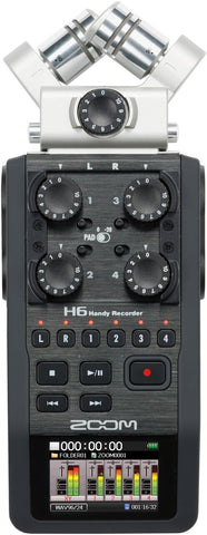 Zoom H6 Handy Recorder - Audiofeen