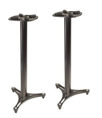 Ultimate Support MS-90-45B Studio Monitor Stands - Audiofeen