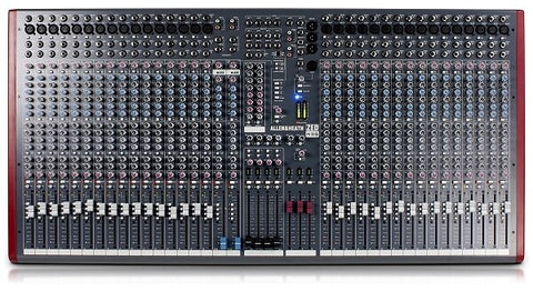 Allen and Heath ZED-436 36-Input, 4-Buss Recording Mixer with USB Connection - Audiofeen