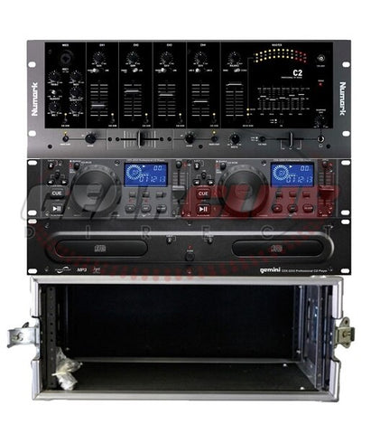 Gemini CDX-2250 Pack with Rack Case - Audiofeen