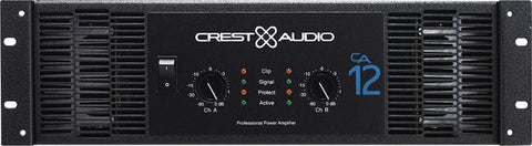Crest Audio CA12 Power Amplifier - Audiofeen