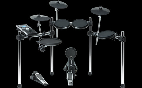 ALESIS FORGE KIT Eight-Piece Drum Kit with Forge Drum Module - Audiofeen