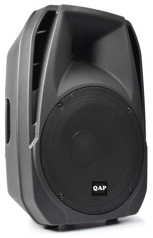 QAP Q15UBT 15inch Active Speaker with USB-SD & Wireless Playback - Audiofeen